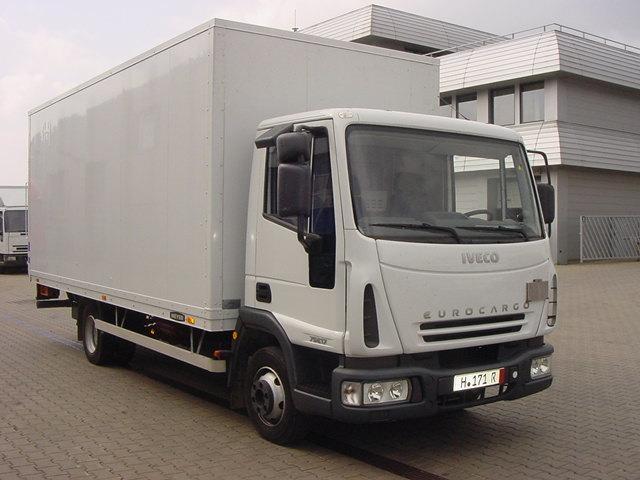 IVECO Eurocargo 75E19P skříň s hydraulickym čelem