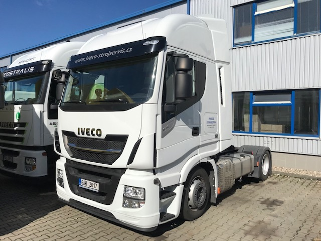 IVECO Stralis AS440S51TFP-LT low-deck REZERVOVANO
