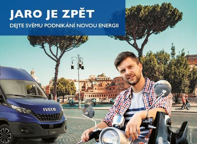 Jarní kampaň IVECO Daily 2021