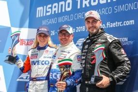 Skvělý vstup do sezóny pro tým Bullen of IVECO Magirus, který opanoval Velkou cenu Itálie v rámci šampionátu ETRC 2018