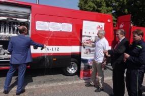 Nový hasičský vůz Daily pro dobrovolné hasiče IVECO