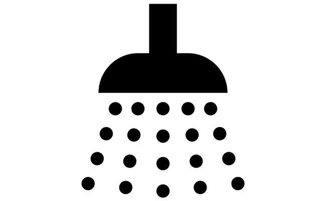 ikona sprcha